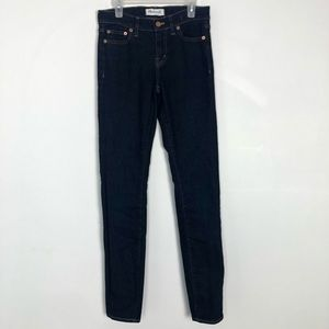 Madewell Women's Alley Straight Jeans Size 25 Dark
